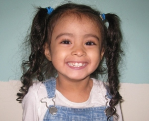 Jasmine, a preschooler at Mill Basin Early Childhood Center