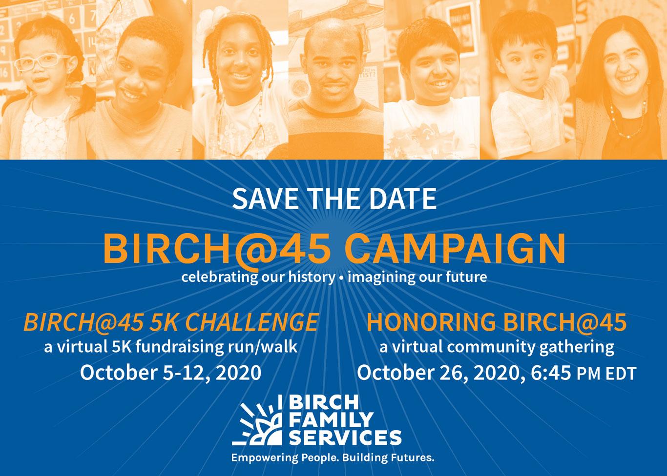 Birch@45 Campaign
